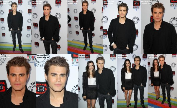 Paul et Torrey à The Paley Center + Paul dans les rues de New-York + Stills Saison 3 Episode 22