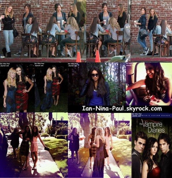 Photos sur le tournage + After Show Party MTV Music Awards + DVD Saison 2