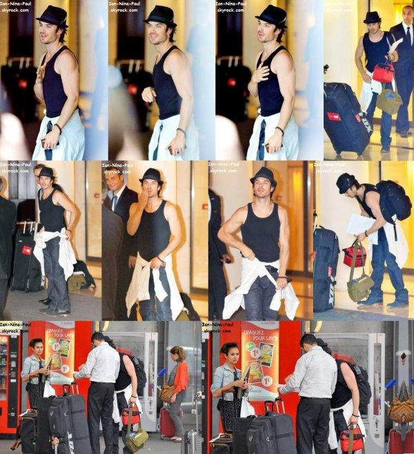 Nian dans les rues de Paris + Ian à New-York + Nian à la gare Montparnasse
