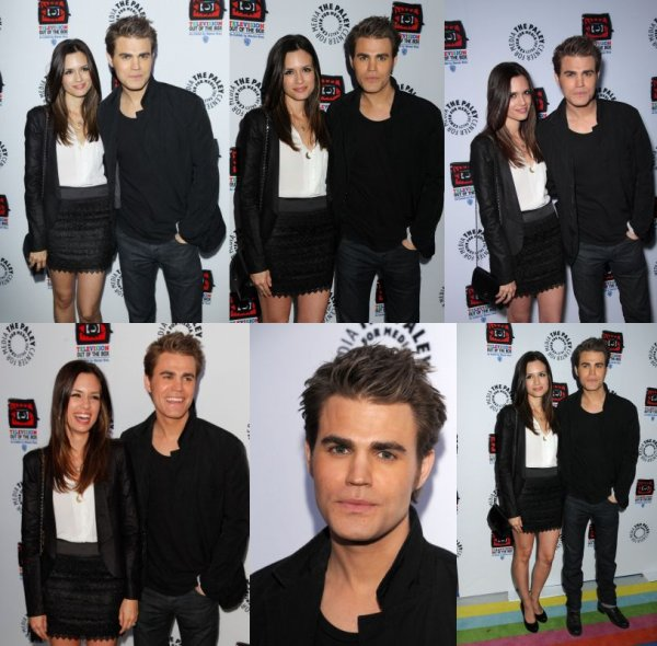 Photoshoot + Paul et Torrey à l'ouverture du centre de Paley Television
