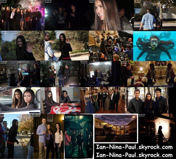 Nina dans les rues de Los Angeles + Photoshoot Nina + Photos de Tournage Saison 3
