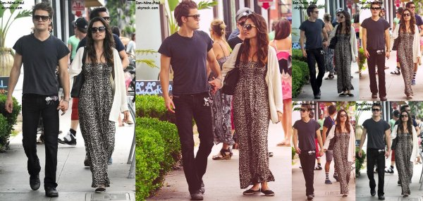 Paul à Santa Monica + Nina à l'aéroport de Los Angeles + Nian en Arizona