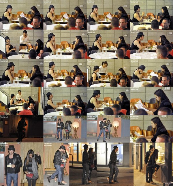 Nian au restaurant + Photoshoot Ian + Nina à Women in Film + Magazine