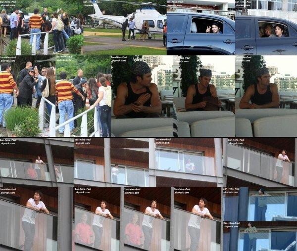 Ian au Brésil + Paul t Torrey à NY + DVD Saison 3