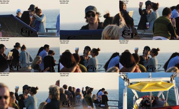 Photoshoot Ian et Nina + Magazines + Nian à Santa Monica