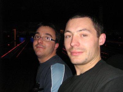 Les 2 hommes de la soirée