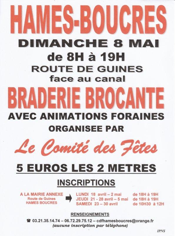 BROCANTE DU 8 MAI 2011