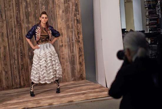Chanel : Nouvelle interview de Kristen avec People Magazine pour la collection 'Métiers d'Art Paris-Dallas'