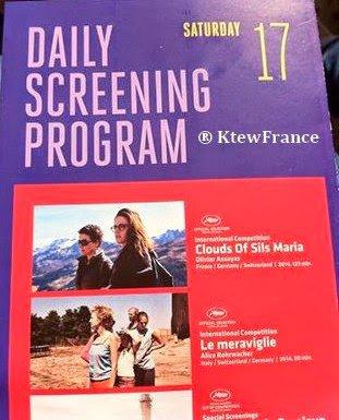 Clouds of Sils Maria : dans le programme des projections du 17.05 #CannesFestival