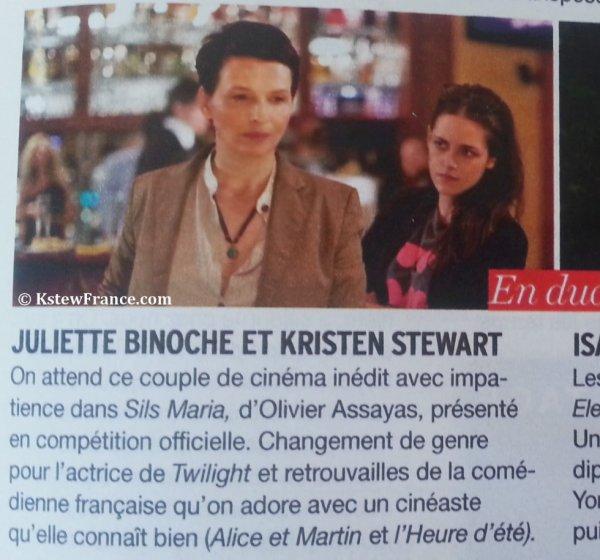 Kristen et Juliette Binoche dans le fémina spécial Cannes