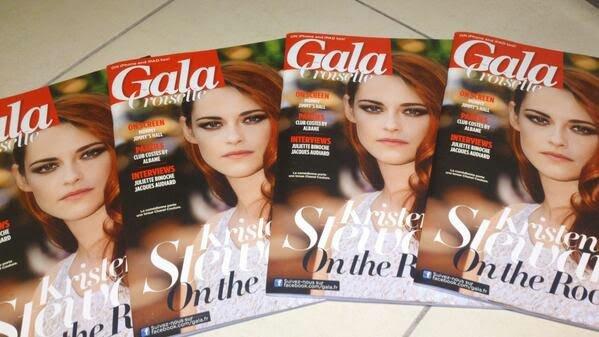Kristen Stewart en couverture du magazine ''Gala Croisette''