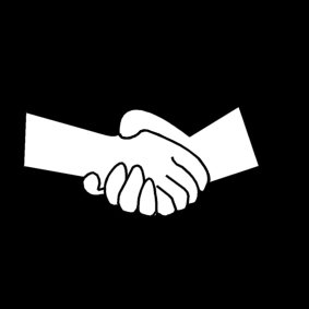 La poignée de mains entre les hommes et les femmes