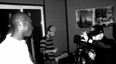Peppairr, Shomron et Emile au studio 2.