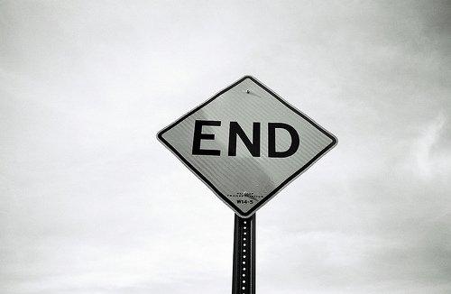 On dit souvent que les bonnes choses ont une fin. J'aurais voulu être l'exception. Ton exception.