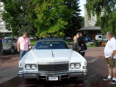 amoureux de voiture ancienne