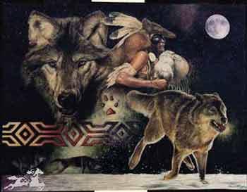"""L'Indien et """"frère loup"""": destins liés"""