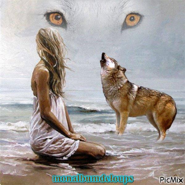 A BIENTÔT   avec  cette sublime vidéo  qui me mets les larmes aux yeux  bléssée par l'humain on a pas le choix que de se battre et oui prends plutot le loup comme ami
