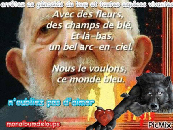 A MEDITER !!!  VIVA REVOLUTION !!!  Dommage je ne vous l'ai pas trouvé en français