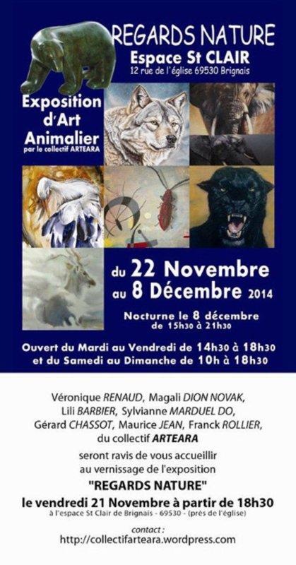 Le Klan du Loup vous invite à venir découvrir les oeuvres de Véronique Renaud