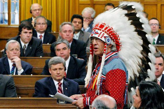 La question des Indiens au Canada  a lire !!!!
