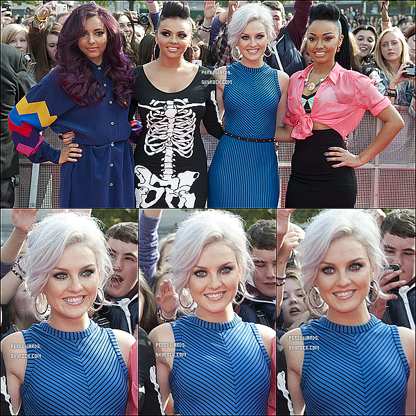 ". Le 7 octobre 2012 ~ Les Little Mix étaient aux ""BBC Radio 1 Teen Awards "" à Londres.."