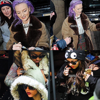 05 Février 2013 : Les Little Mix, ont été photographiées arrivant à leur hôtel à Wolverhampton.