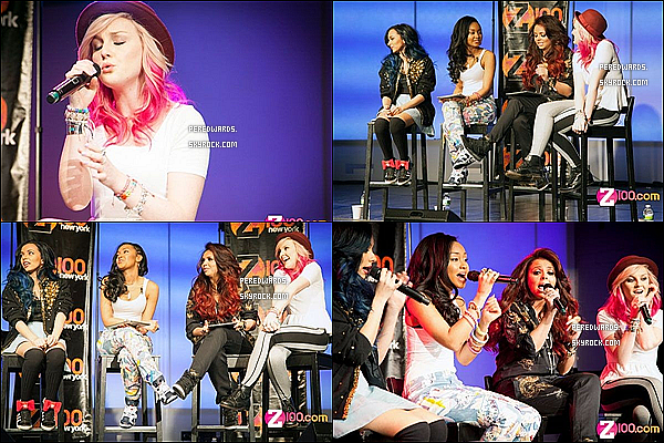 . Le 21 mars 2013 ~ Les Little Mix étaient à la radio NOW à  New York ..