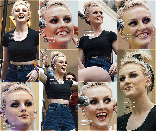 . Le 1er avril 2013 ~ Les Little Mix ont chanté à la radio NOW 99.7 à San Francisco..