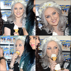 . Le 6 mai 2013 ~ Les Little Mix ont servi des glaces à Soho Square à Londres.  .