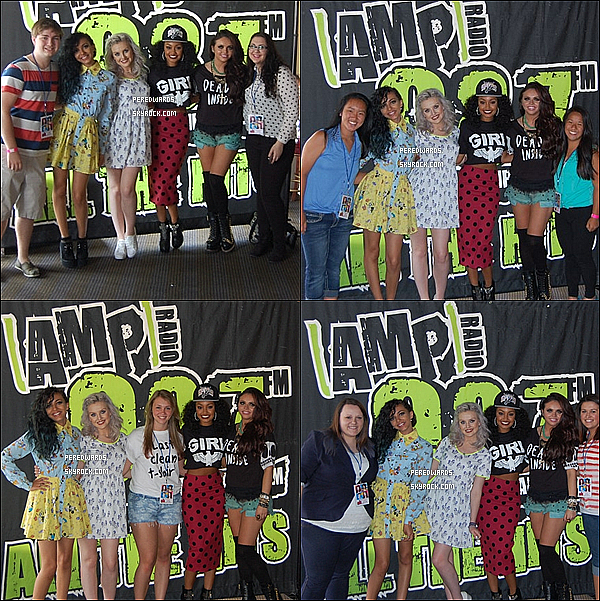 Le 5 juin 2013 ~ Little Mix était à la radio 98.7 AMP  à Détroit dans le Michigan.