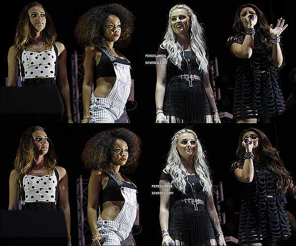 Le 26 juillet 2013 ~ Les Little Mix ont chanté au Newmarket Racecourse au Suffolk.