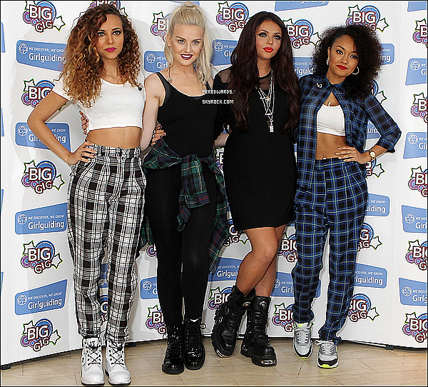 "Le 12 octobre 2013 ~ Les Little Mix étaient au ""Girlguiding's Big Gig"" à Londres."
