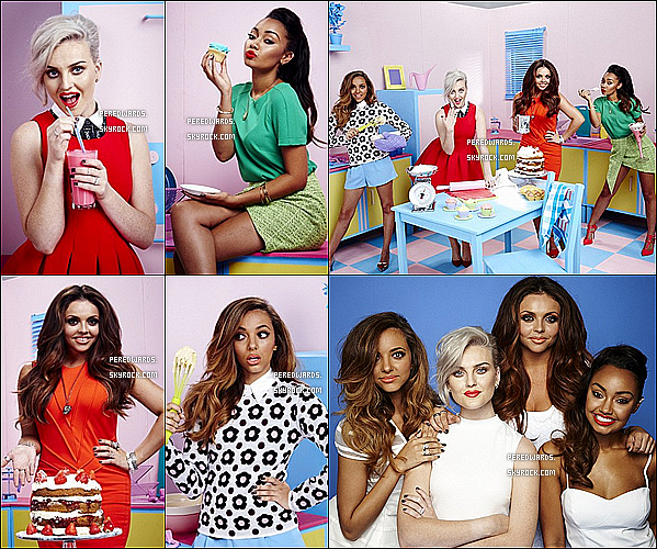"Les Little Mix font la couverture du magazine anglais ""YOU""."