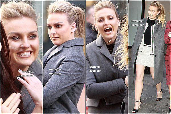 Le 4 février 2014 ~ Les Little Mix ont une interview pour Access Hollywood à New York.
