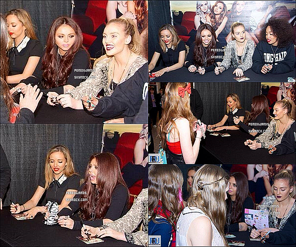 Le 5 mars 2014 ~ Les Little Mix étaient à la radio 103.3 AMP à Boston.