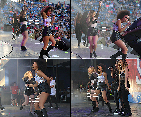 Le 14 juin 2014 ~ Les Little Mix ont performé au B96 Summer Bash à Chicago.