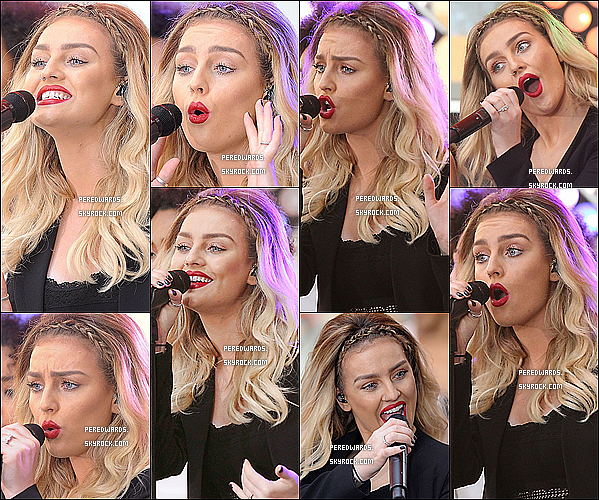 Le 17 juin 2014 ~ Les Little Mix ont chanté au Today Show à NYC.