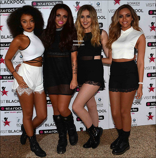 Le 29 août 2014 ~ Les Little Mix ont chanté au festival Blackpool Illumanations.
