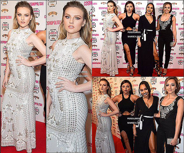 Le 3 décembre 2014 ~ Les Little Mix sur le tapis rouge Cosmo Awards.