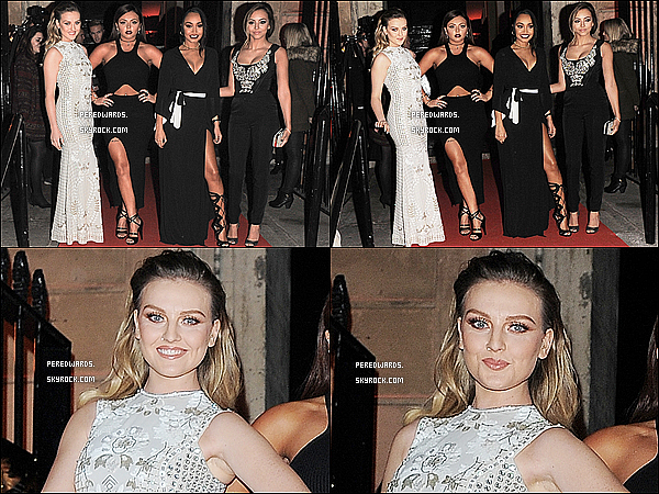Le 3 décembre 2014 ~ Les Little Mix arrivant au Cosmopolitan Awards à Londres.
