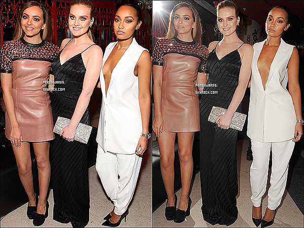 Le 25 février 2015 ~ Les filles sur le tapis de l'after party des Brit Awards à Londres.
