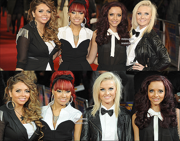 "Le 28 novemvre 2011 ~ Les Little Mix étaient au ""Royal Film Performance""."
