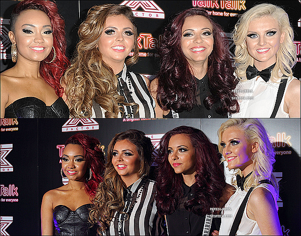 "Le 30 novembre 2011 ~ Les Little Mix étaient au ""X Factor Secret Gig""."