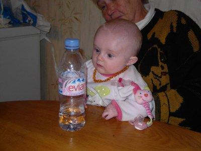 Kaylia dans son 3ème mois ..