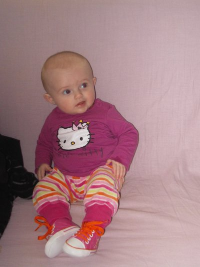 Kaylia dans son 4ème mois ..