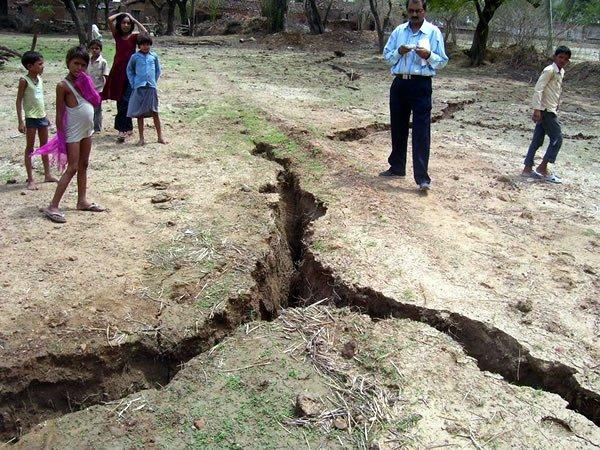 Land splitting creates panic in Uttar Pradesh State of India