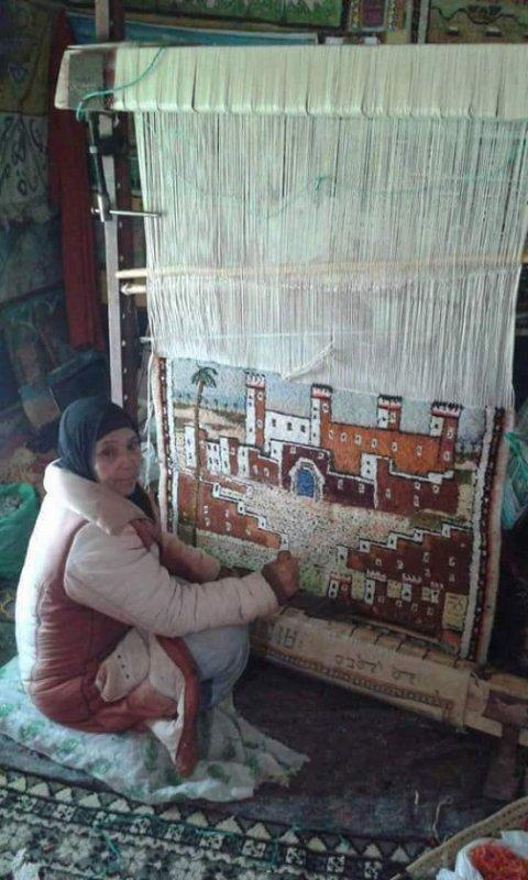 tissage traditionnel marocain ( Artiste )