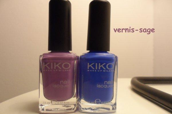 French violet et bleu