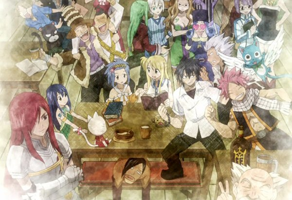 Images Fairy Tail, édition n°1