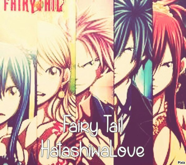 Photomontages  n°4 (Fairy Tail)